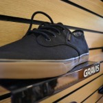 Gravis shoe close up