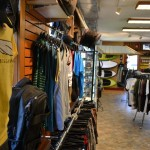 Men's clothing displays