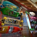 Skateboard wall