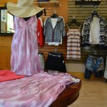 Women's dress and clothing displays